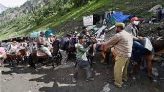 Jammu And Kashmir: Five Pilgrims Dead, Four Injured in Landslide on Amarnath Yatra Route