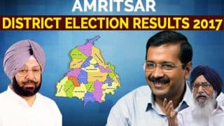 Amritsar District Election Results 2017: Congress wins all 11 constituencies