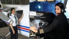Ayesha Aziz from Kashmir is India's youngest student pilot all set to fly commercial passenger plane!