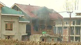 Budgam Encounter: 43 CRPF personnel injured in stone-pelting; Rashtriya Rifles soldier receives bullet injuries