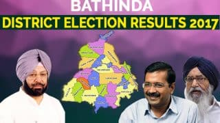 Bathinda District Election Results 2017: AAP wins four seats, Congress bags two, Akali Dal-BJP suffer rout