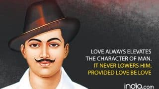 Bhagat Singh Quotes on Shaheed Diwas