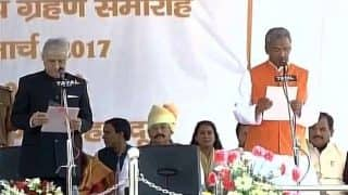 Trivendra Singh Rawat sworn in as the Chief Minister of Uttarakhand