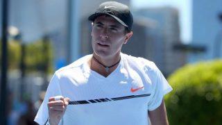 Ernesto Escobdeo upsets Britain's Dan Evans in Miami Open