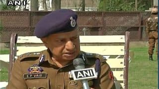 Bullets don't see who they hit, youths coming to encounter sites committing suicide, says J&K DGP SP Vaid