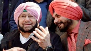 Punjab Congress Crisis: CM Amarinder Strips Navjot Sidhu of Key Portfolio, Hands Him Renewable Energy