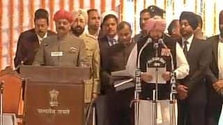 Captain Amarinder Singh sworn in as Punjab Chief Minister; Navjot Singh Sidhu, Manpreet Badal among nine take oath as ministers