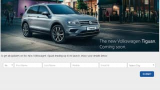 New 2017 Volkswagen Tiguan listed on the official website, India launch likely in May