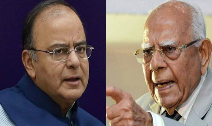 Drama in courtroom as Jethmalani grills Arun Jaitley