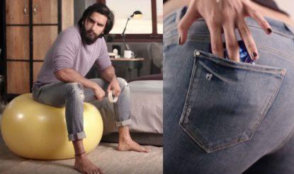 Durex Jeans Condom new ad has Ranveer Singh perfecting various sex positions! Watch video