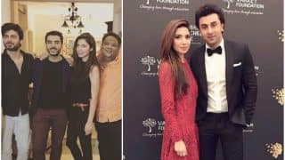Mahira Khan indulges in a friendly banter with Ranbir Kapoor, chills with Fawad Khan (watch videos and see pictures)