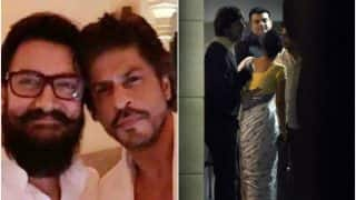 Shah Rukh Khan's back door entry to Aamir Khan's birthday party has got us intrigued (see pictures)