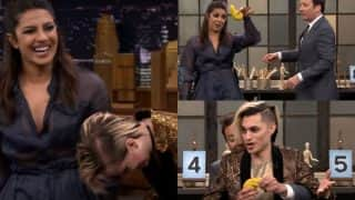 Priyanka Chopra playing Tandem Sculptionary on the sets of Jimmy Fallon show is all you need to beat the mid-week blues!