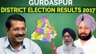 Gurdaspur Election Results 2017: View list of winners of Qadian, Batala, Dina Nagar and other seats