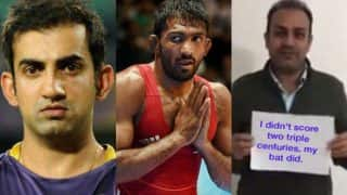 Gautam Gambhir blasts Virender Sehwag, Yogeshwar Dutt and others mocking Gurmehar Kaur in powerful video!