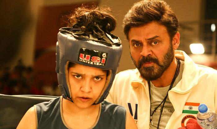 guru movie review venkatesh amp ritika singh starrer gets