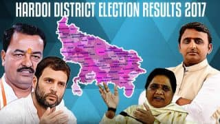 Hardoi Election Results 2017: Who is winning from Sawayazpur, Shahabad, Gopamau and other constituencies