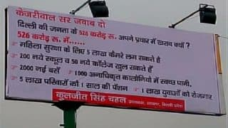 MCD Elections 2017: Delhi civic bodies ask political parties to remove illegal hoardings