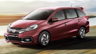 Honda Mobilio sales end in India; new version being considered