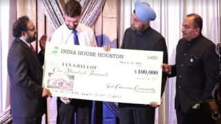 Kansas shooting: US man Ian Grillot who suffered bullet injuries for Srinivas Kuchibhotla felicitated with $100,000