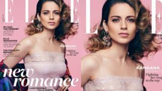Kangana Ranaut looks stunning in her first ever Elle cover!