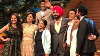 Kapil Sharma BREAKS down in front of Naam Shabana actors Manoj Bajpayee and Taapsee Pannu on the sets of The Kapil Sharma Show!