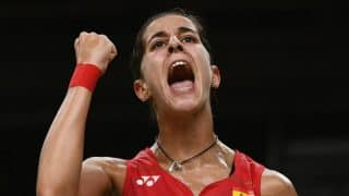 BWF should think about sorting international schedule, says Carolina Marin