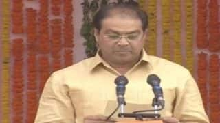 Mohsin Raza is the lone Muslim face in Yogi Adityanath's Council of Ministers