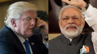 Donald Trump calls Narendra Modi to congratulate him on BJP's Assembly election victory
