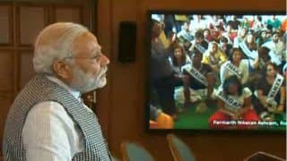 Yoga has the power to fight terrorism, climate change: PM Narendra Modi at International Yoga Festival