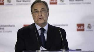 Real Madrid president Florentino Perez says club's values based on humility, respect