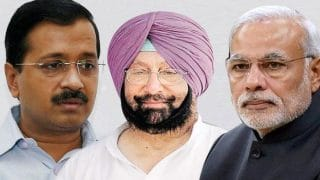 Punjab Assembly Elections Result 2017: Congress ahead in 56 seats in Punjab as per early trends
