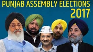 Punjab Assembly Elections Result 2017: Congress surges ahead in Punjab, AAP third