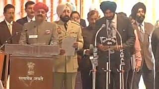 Captain Amarinder Singh sworn in as Punjab Chief Minister: List of Ministers in his Cabinet