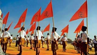 BJP workers in Uttar Pradesh join Sangh Shiksha Varg of RSS for government jobs