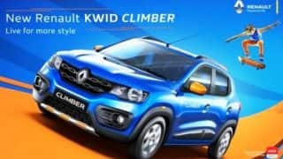 Renault Kwid Climber brochure images reveal details