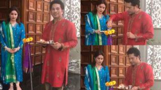 Sachin Tendulkar with wife Anjali celebrate Gudi Padwa, wishes 'Gudi Padwa Hardik Shubhechha' in a sweet video!