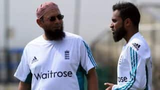 England hire Saqlain Mushtaq as new spin coach for two years