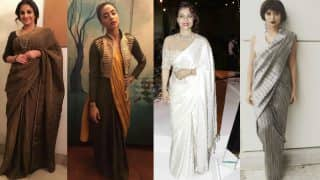 Bani J, Sayani Gupta, Kajol Devgan and Vidya Balan flaunt jaw-dropping sarees! View Pictures!