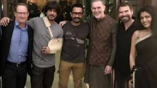 Shah Rukh Khan and Aamir Khan are the new best friends in town! New picture shared by SRK is proof!