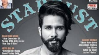 Shahid Kapoor is getting HOTTER with age! Checkout the latest cover of Stardust