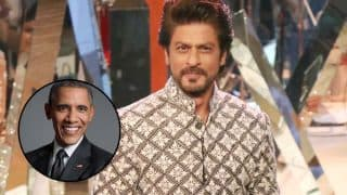 Shah Rukh Khan threatens a journo when asked about US ex-President Barack Obama (Watch video)