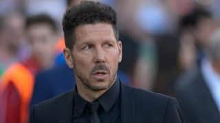 Diego Simeone still raw over Champions League defeat