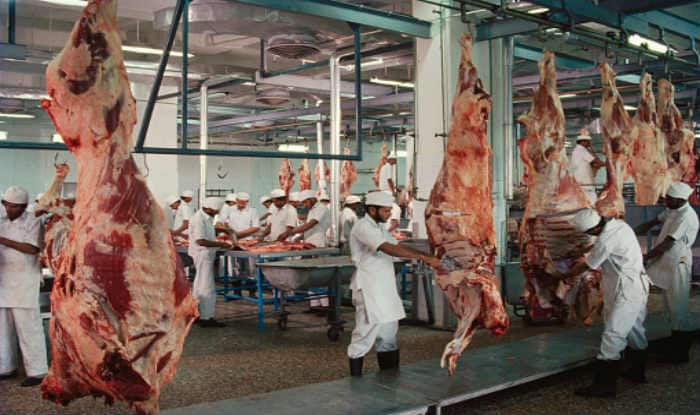 Meat sellers on strike in Uttar Pradesh