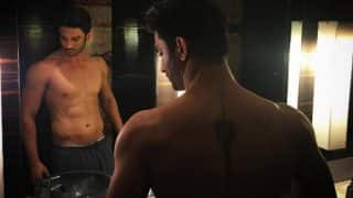 Sushant Singh Rajput shows off his toned body & tattoo and it's drool-worthy