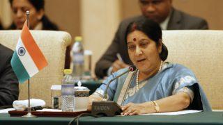 Sushma Swaraj directs to rescue 29 Telangana workers from Saudi company captivity