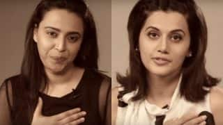 International Women's Day: Tapsee Pannu and Swara Bhasker's tutorial on FLAUNTING your cleavage is all you need to watch today