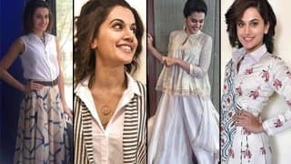 Naam Shabana actress Taapsee Pannu's 16 sleek looks from the promotions! View Pics!