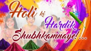 Holi Festival Wishes in Hindi: Best Happy Holi Quotes, WhatsApp Messages, Facebook Status & Gif Images to Wish Holi, Rangapanchami, & Dhuleti 2017