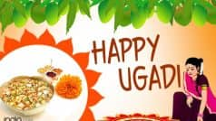 Happy Ugadi 2017: Best Wishes, Whatsapp Messages, Facebook Status, SMS & Gif Images to send Happy Ugadi Greetings